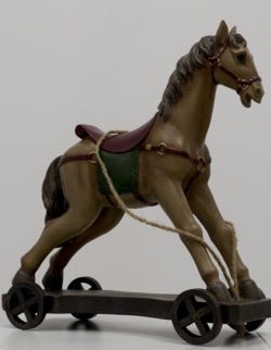 Cavallo Poly con ruote