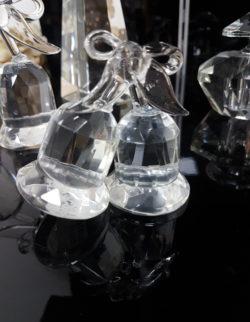 Campanelle in cristallo