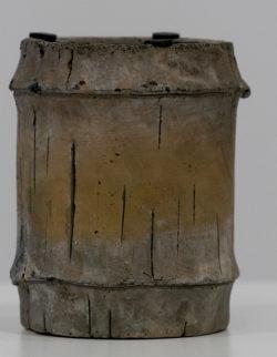 Portacandela Vaso Cemento Bamcoo H13 D11