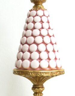 Alzata rosa macaron